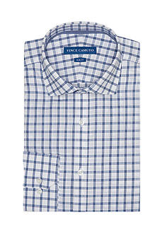 Vince Camuto Slim-Fit Windowpayne Dress Shirt