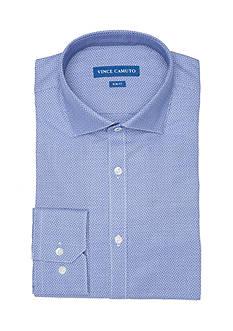Vince Camuto Slim-Fit Mosaic Dobby Dress Shirt