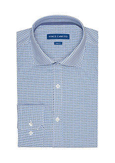 Vince Camuto Slim-Fit GEO Print Dress Shirt