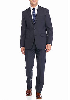 Vince Camuto Modern-Fit Tic Suit