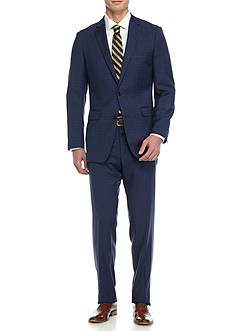 Vince Camuto Modern-Fit Plaid Suit