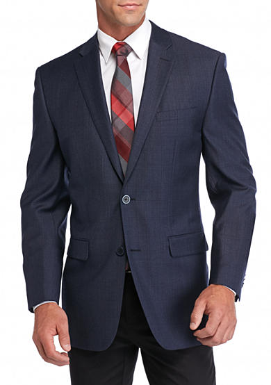 Vince Camuto Modern-Fit Windowpane Sport Coat