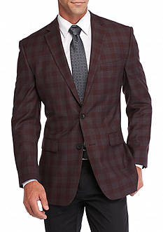 Vince Camuto Modern-Fit Plaid Sport Coat