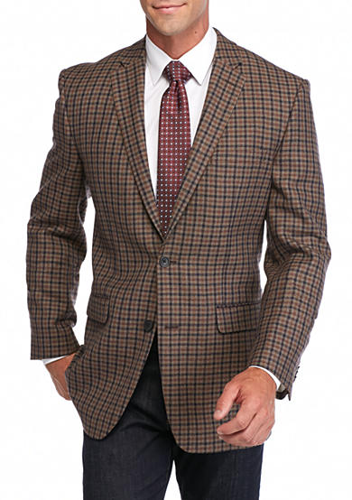 Vince Camuto Modern-Fit Fall Plaid Sport Coat