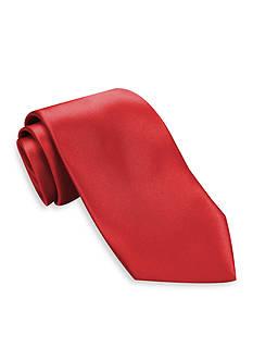 Haggar Washable Solid Satin Tie
