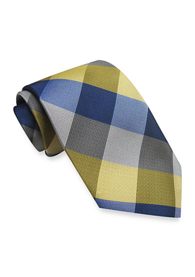 Haggar® Khaki Buffalo Plaid Tie