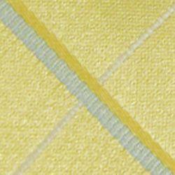 Haggar Men Sale: Yellow Haggar Long Woven Grid Neck Tie