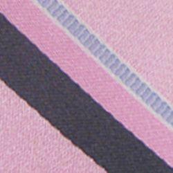Haggar Men Sale: Pink Haggar Long Striped Neck Tie