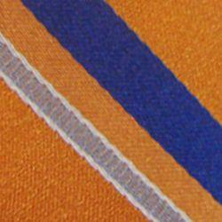 Haggar Men Sale: Orange Haggar Long Striped Neck Tie