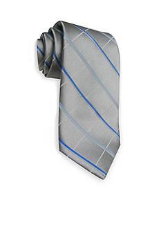Haggar Extra Long Grid Neck Tie