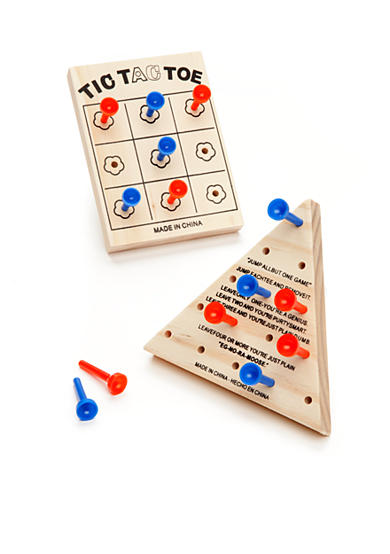 Saddlebred® 2 Piece Wooden Games Set