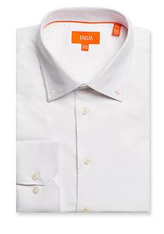 Tallia Orange Slim-Fit Solid Dress Shirt