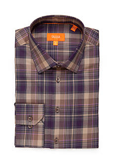 Tallia Orange Slim Fit Dress Shirt