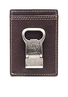 Jack Mason Tampa Bay Buccaneers Gridiron Front Pocket Wallet with Money Clip
