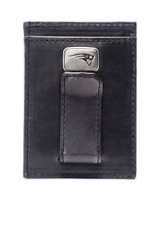 Jack Mason New England Patriots Black Legacy Multicard Front Pocket Wallet