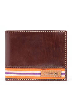 Jack Mason Clemson Tailgate Traveler Wallet