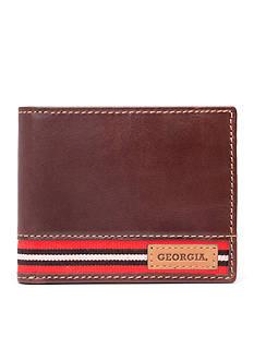 Jack Mason Georgia Tailgate Traveler Wallet