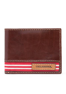 Jack Mason Oklahoma Tailgate Traveler Wallet