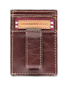 Jack Mason Mississippi State Tailgate Multicard Front Pocket Wallet with Money Clip