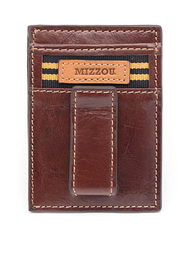 Jack Mason Missouri Tailgate Multicard Front Pocket Wallet with Money Clip