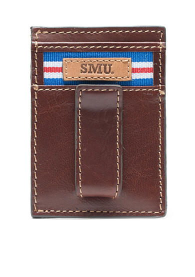 Jack Mason SMU Tailgate Multicard Front Pocket Wallet with Money Clip