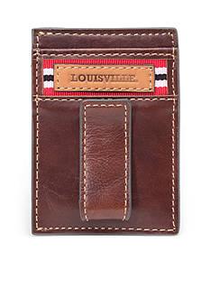 Jack Mason Louisville Tailgate Multicard Front Pocket Wallet