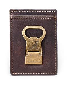Jack Mason Alabama Gridiron Multicard Front Pocket Wallet