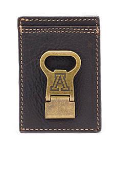 Jack Mason Arizona Wildcats Gridiron Multicard Front Pocket Wallet with Money Clip