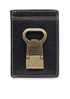 Jack Mason Kansas Jayhawks Gridiron Multicard Front Pocket Wallet with Money Clip