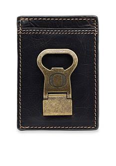 Jack Mason Oregon Ducks Gridiron Multicard Front Pocket Wallet with Money Clip