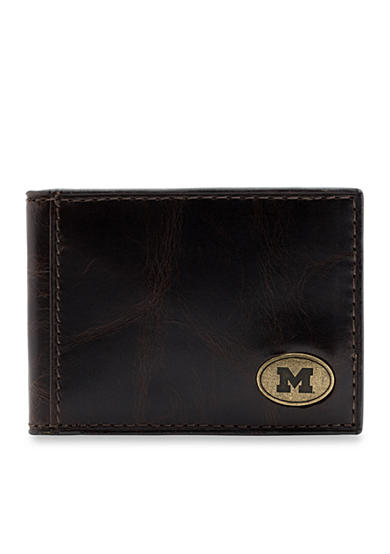 Jack Mason Michigan Legacy Bifold Front Pocket Wallet