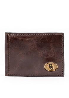 Jack Mason Oklahoma Legacy Flip Bifold Front Pocket Wallet