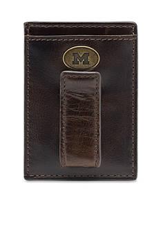 Jack Mason Michigan Legacy Multicard Front Pocket Wallet