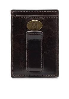 Jack Mason Oklahoma Legacy Multicard Front Pocket Wallet