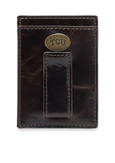 Jack Mason TCU Legacy Multicard Front Pocket Wallet
