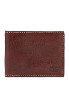 Jack Mason Georgia Hangtime Slim Bifold Wallet