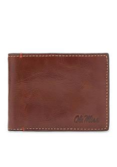 Jack Mason Ole Miss Hangtime Slim Bifold Wallet