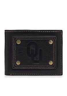 Jack Mason Oklahoma Gridiron Bifold Wallet
