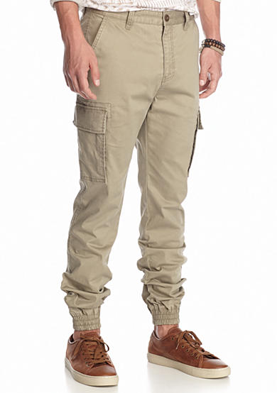 Chip pepper california twill cargo jogger pants belk for Chip and pepper t shirts
