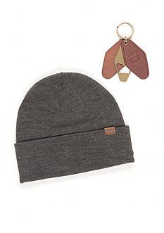 Levi's Beanie Hat and Key Fob Bottle Opener Set