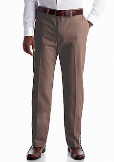 Haggar® Classic-Fit Flat-Front Non-Iron Pants