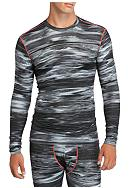 SB Tech® Long Sleeve Printed Compression Tee