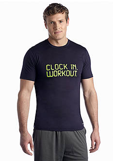 SB Tech® Clock In Work Out Graphic Tee