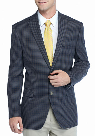 Austin Reed Classic-Fit Check Sport Coat