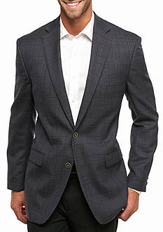 Austin Reed Classic Fit Wool Check Sport Coat