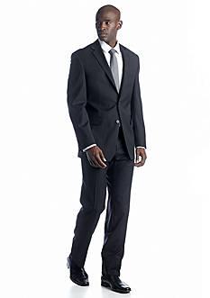 Austin Reed Black Stripe Suit