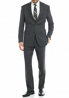 Austin Reed Classic-Fit Plaid Suit