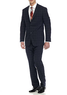 Austin Reed Classci-Fit Windowpane Suit