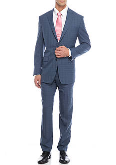 Austin Reed Classic-Fit Windowpane Suit
