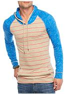 Red Camel® Long Sleeve Pencil Stripe Henley